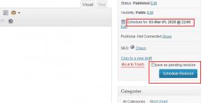 Revisionary Schedule WordPress Post Updates